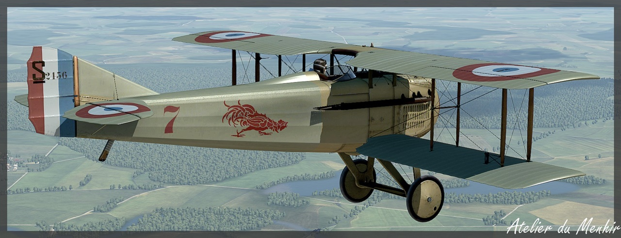 Spad VII C1 (150cv) - (DOWNLOAD) Spad7_N62_07w